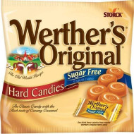 Werther'S Original Sugar Free Caramel Hard Candies 12 Pack