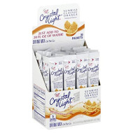 Kraft Crystal Light On The Go Sunrise Drink Mix Classic Orange, 2 Ounce - 30 Per Pack -- 4 Packs Per Case.