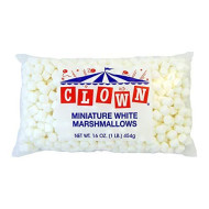 Clown Mini Marshmallows 12 16Oz Bags