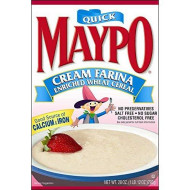 Homestate Farms Maypo Cream Farina Oatmeal Cereal, 28 Ounce - 12 per case.