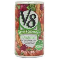 Juice V8 Low Sodium High Cone, 5.5 Ounce - 48 Case