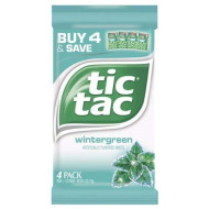 Tic Tac Wintergreen Candy, 4 Ounce - 24 Per Case.
