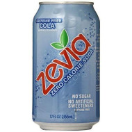 Zevia All Natural caffene Free Cola Soda, 12 Ounce - 24 per case.