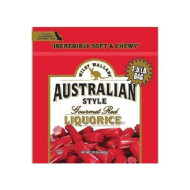 Wiley Wallaby Australian Goumet Style Red Licorice Candy 24 Oz. (Pack Of 4)