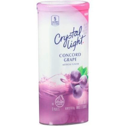 Crystal Light Classic Orange Drink Mix, 10-Quart Canister (Pack of 12)