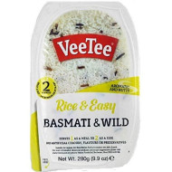 Veetee Dine In Rice - Microwavable Basmati and Wild Rice - 9.9 oz - Pack of 6