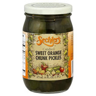 Pickle Candied Swt Orng Chnks (Pack of 6)