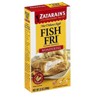 Zatarains, Coating Mix Fish Fry Regular, 12 OZ (Pack of 8)