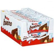Kinder Bueno - Ferrero Kinder Chocolates - Box Of 30 Pc