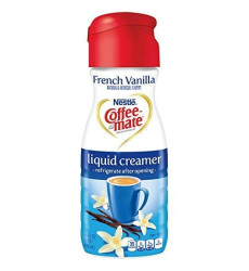 Coffeemate Liquid, French Vanilla, 16-Ounce (Pack Of 6)