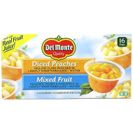 Del Monte Fruit Cups Variety - 16/4 Oz. Cups