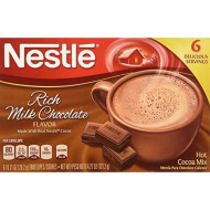 Nestle, Rich Milk Chocolate Hot Cocoa Mix, 6 Serving, 6Oz Box (Pack Of 4)