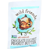 Wild Friends Mini Chocolate Coconut Peanut Butter, 1.15 Ounce - 10 Per Case.