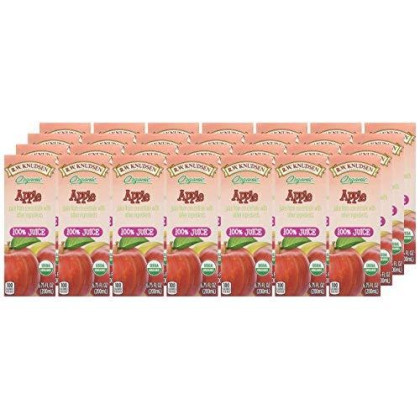 R.W. Knudsen Organic Juice Boxes - Apple - 6.75 Oz - 4 Ct - 7 Pk