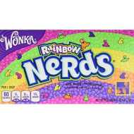 Wonka Rainbow Nerds Theatre Box 141.7G Pack Of 2