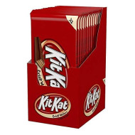 Kit Kat Holiday Chocolate Candy Bars, Extra Large, Stocking Stuffers, 4.5 Ounce (Pack Of 12)