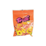 Trolli Peachie Os Gummy Candy, 4.25 Ounce - 12 Per Case.