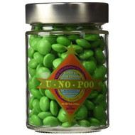 Universal Studios Wizarding World Of Harry Potter Park Honeydukes Emporium U No Poo Chocolate Covered Candies 7 Oz Candy Collectible Glass Jar
