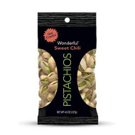 Wonderful Pistachios, Sweet Chili, 4.5 Ounce Bag
