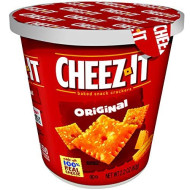 Cheez-It Baked Snack Cheese Crackers in a Cup, Original, Single Serve, 2.2 oz(Pack of 10)