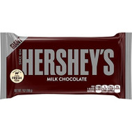 Hershey'S Giant Chocolate Candy Bar, 7 Ounce (Pack Of 12)