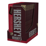 Hershey'S Dark Chocolate Candy Bars, Giant, 6.8 Ounce ( Pack Of 12)