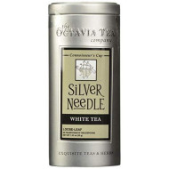 Octavia Tea Silver Needle (Organic White Tea) Loose Tea, 1.23 Ounce Tins