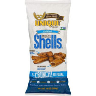 Unique Pretzels Original Pretzel Shells, 10 Ounce, 12 Bags