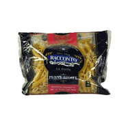 Racconto Penne Rigate Mostaccioli With Lines, 16 Ounce - 20 Per Case.
