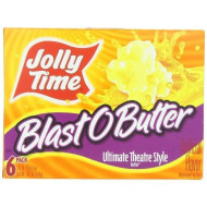 Jolly Time Blast O Butter Ultimate Theatre Style Microwave Pop Corn, 1 Count