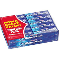 Wrigley's Winterfresh Gum 5-Piece Pack (40 packs)
