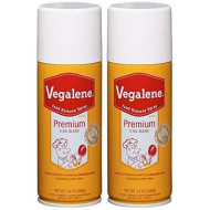 Vegalene Premium 3 Oil Blend Cooking Spray, 14 oz (Pack of 2)