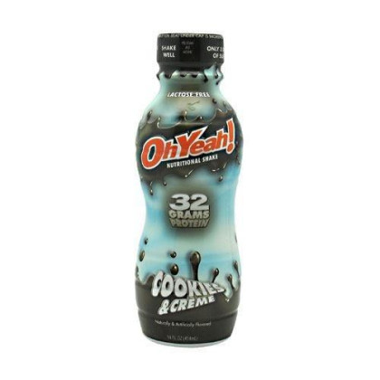 Iss Oh Yeah! Ohyeah! Protein Shake Rtd Cookies & Creme 12 - 14 Oz Bottles