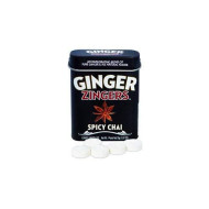 Ginger Zingers Spicy Chai 1.07Oz (12-Pack)