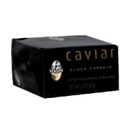 Season Black Capelin Caviar, 2 Ounce - 12 per case.
