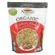 Organic Cranberry Almond Granola Clusters 11 Ounces (Case Of 6)