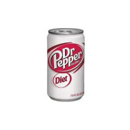 Dr Pepper Diet Soda, 7.5 Ounce (24 Cans)