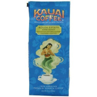 Kauai Coffee, Koloa Estate Dark Roast, Ground Coffee, 10Oz Bag (Pack Of 2)