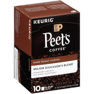Peet'S Coffee Major Dickason Blend Single Cup Coffee For Keurig K-Cup brevers 40 Count