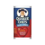 Quaker Oats Quick 1-Minute (100% Natural Whole Grain) 42oz - Quantity 2