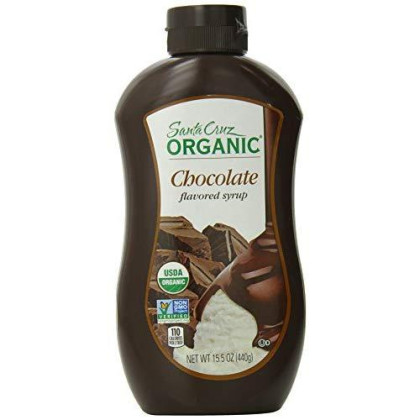 Santa Cruz Organic Syrup, Chocolate, 15.5 Ounce Bottle