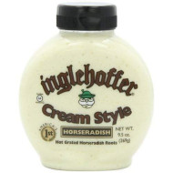 Inglehoffer Cream Style Horseradish, 9.5-Ounce Squeezable Bottles (Pack Of 2)
