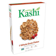 Kashi, Breakfast Cereal, 7 Whole Grain Flakes, Non-Gmo Project Verified, Bulk Size, 126 Ounces (Pack Of 10, 12.6 Oz Boxes)
