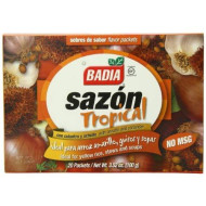 Badia Sazon Tropical Seasoning with Annatto and Coriander, 3.52 Ounce (Pack of 15)