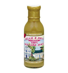 Nellie & Joes 100% Key Lime Juice, 12 Oz (Glass Bottle, 2 Pack)