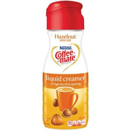 Nestle Coffee-Mate Hazelnut Liquid Coffee Creamer 16 Oz (Pack Of 6)