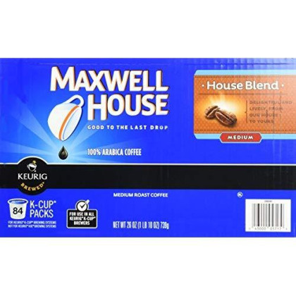 Maxwell House Single Serves 84 Cups