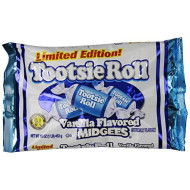 Vanilla Tootsie Roll Midgees Limited Edition 16 Oz (2 Pack)