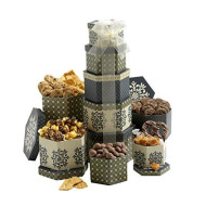 Token Of Appreciation Gift Tower The Perfect Gift Basket For Mothers Day, Birthdays, Sympathy Or Any Occasion
