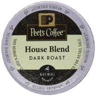 Peet'S Coffee House Blend Single Cup Coffee For Keurig K-Cup brevers 40 Count
